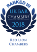 UK Bar Chambers Award
