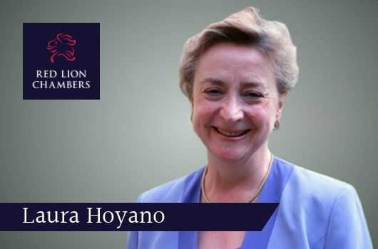 Oxford University Recognition of Distinction Awards 2020 awarded to Professor Laura Hoyano