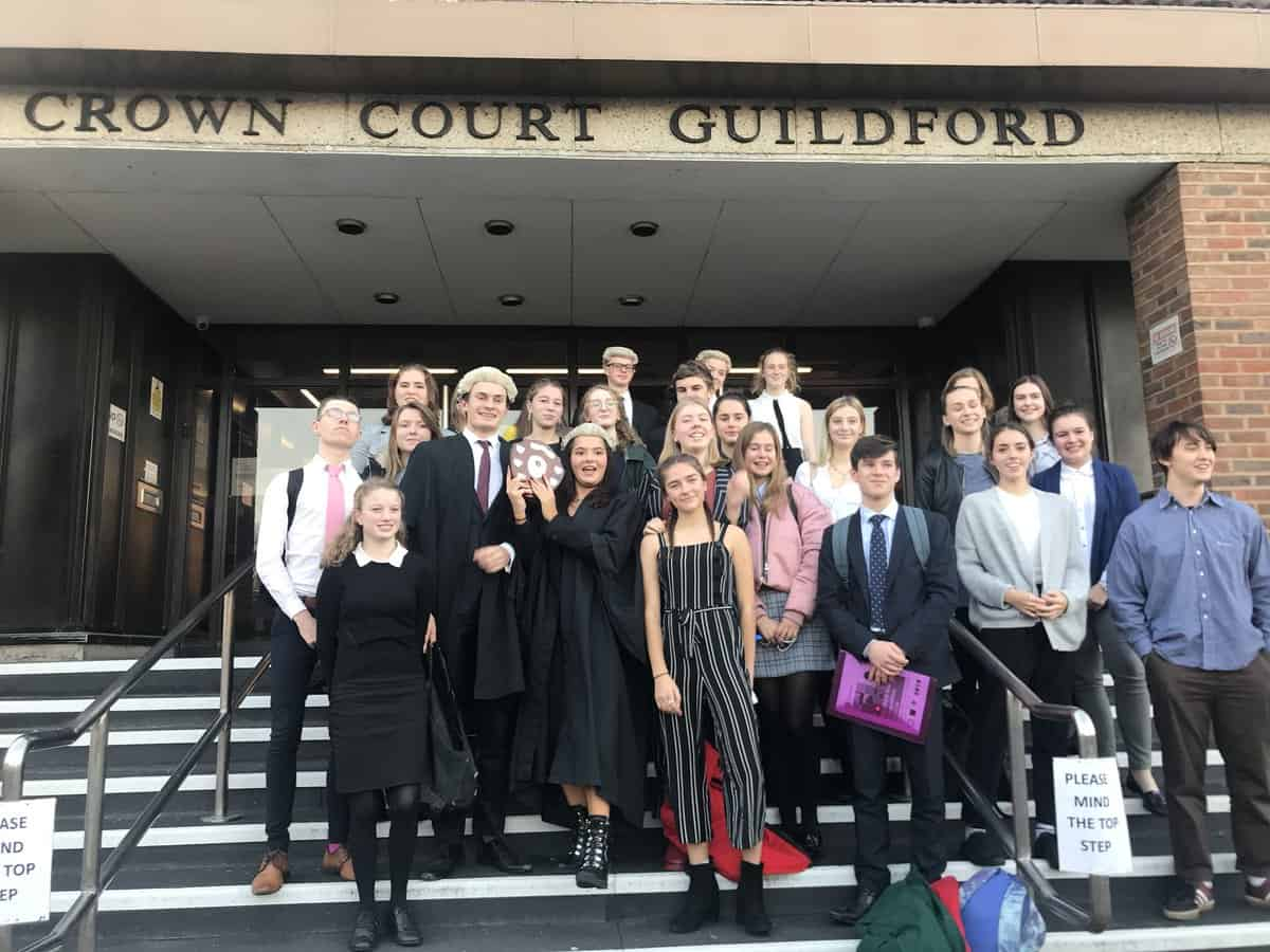 Red Lion Chambers proudly sponsored the Young Citizens, MockTrials on Saturday 17th November at Guildford Crown Court.
