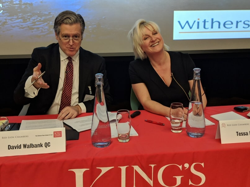 First of Red Lion Lectures takes place at Kings College, London
