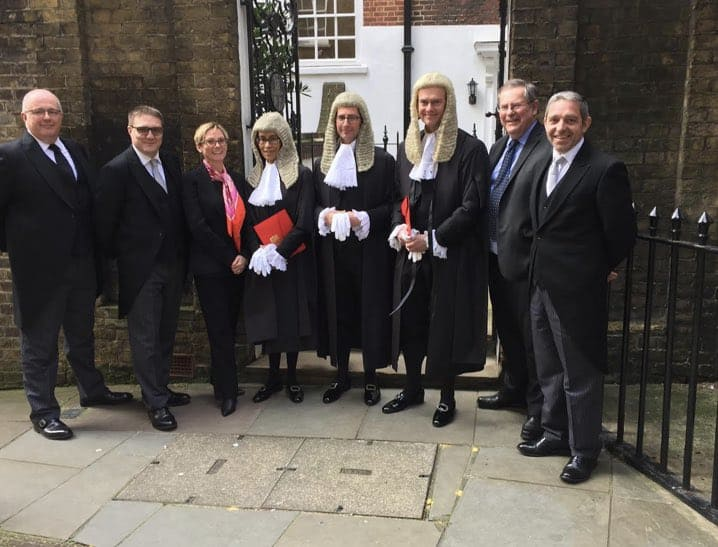 Our congratulations and very best wishes go to  Michael Goodwin, Michelle Nelson and Christopher Paxton as they are appointed Queens Counsel today at the  Palace of Westminster