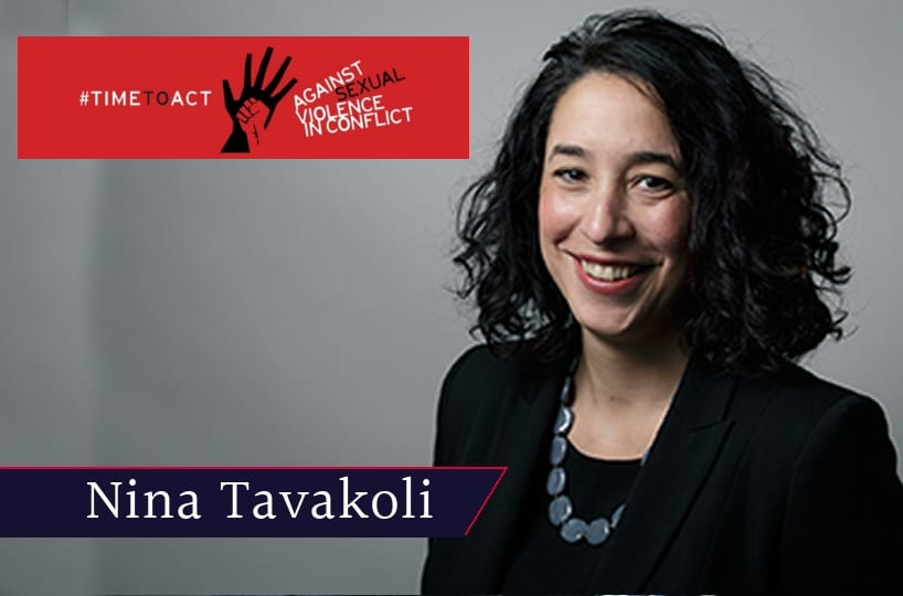 Nina Tavakoli was a guest speaker at the FCO/Wilton Park conference on Preventing Sexual Violence in Conflict.
