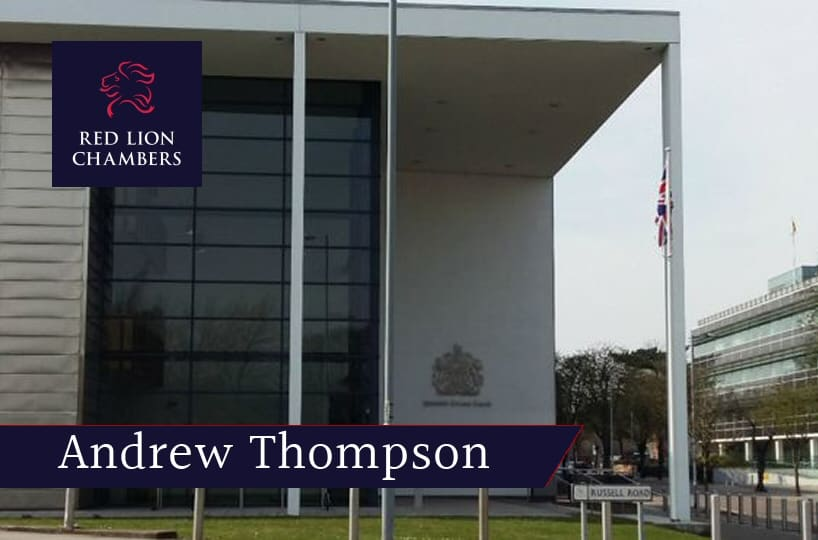 Andrew Thompson leads prosecution in trial of man accused of raping University of Essex student.