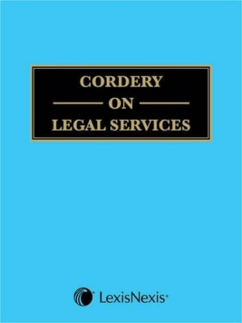 Cordery on Legal Services