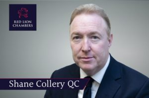 Shane Collery QC instructed by the CPS in the largest fraud against the Welsh Government.
