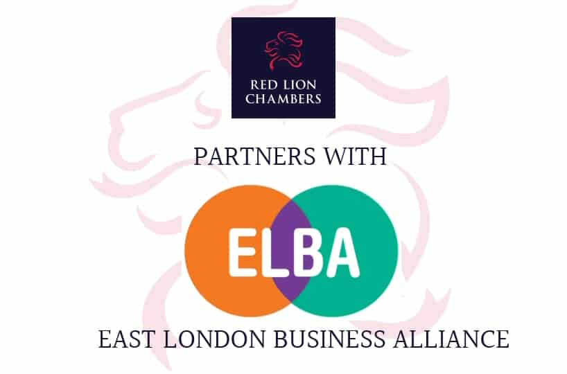 CHAMBERS PARTNERS WITH THE EAST LONDON BUSINESS ALLIANCE (ELBA)