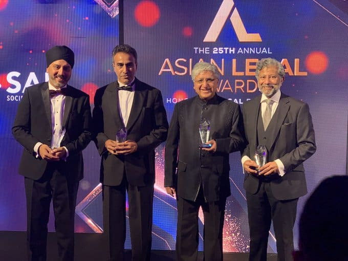 On Saturday 28th September, 2019 Barrister Sailesh Mehta was honoured for his contribution in promoting diversity and inclusion for Asian Lawyers at the Bar.