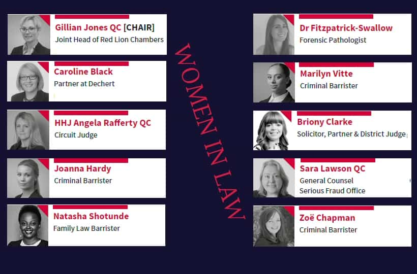 Chambers celebrate 100 Years of Women in Law with special panel discussion exploring the journeys of 10 women in law