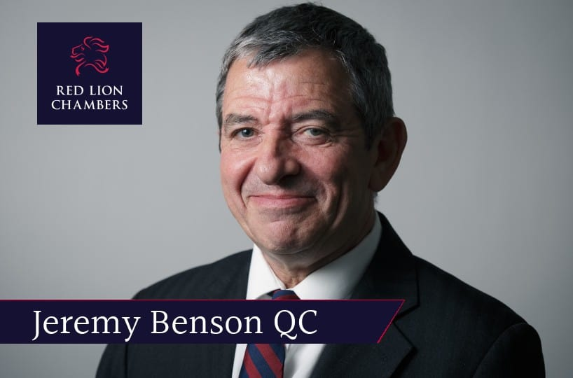 Jeremy Benson QC successfully opposes application to appeal a £2 million confiscation order