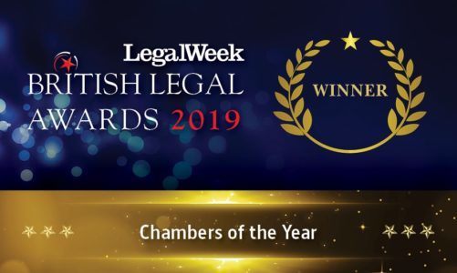 Winner British Legal Awards - Chambers