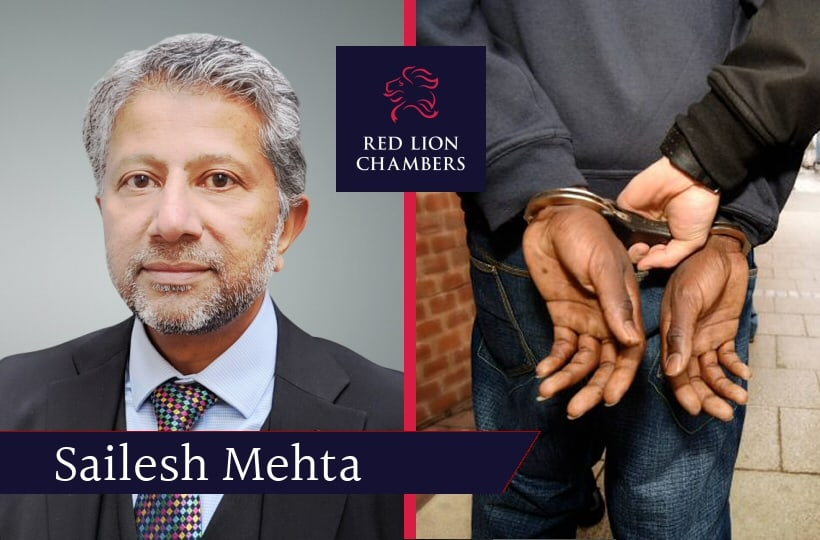 RLC member Sailesh Mehta talks to Eastern Eye newspaper about BAME prisoner 'bias' and unfair treatment with David Lammy MP