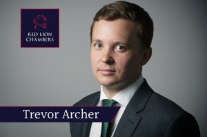 """""""Trevor Archer led by Simon Mayo QC represented the Serious Fraud Office in relation to the sixth Deferred Prosecution Agreement (DPA), which was approved by Mr Justice William Davis on 22 Oct 2019."""