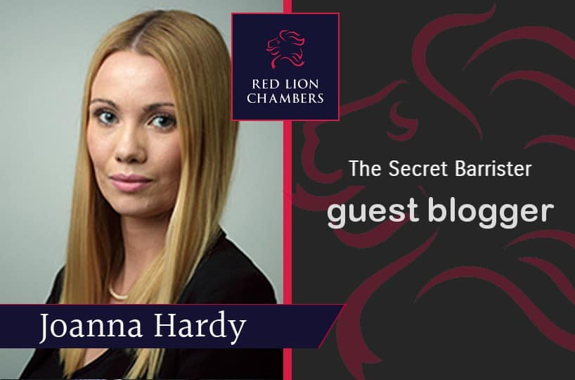 Joanna Hardy writes a guest blog for The Secret Barrister examining how the effects of lockdown has affected the courtrooms.