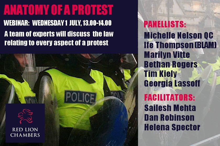 Anatomy of a Protest