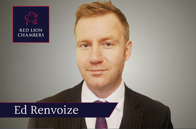 RLC member Edward Renvoize has been appointed a Recorder assigned to the South Eastern Circuit.
