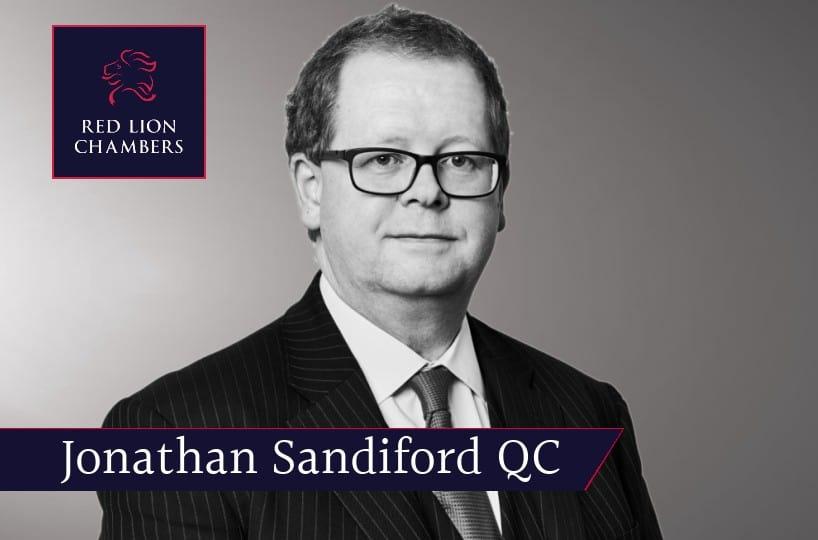 Jonathan Sandiford QC joins Red Lion Chambers as an Associate Tenant