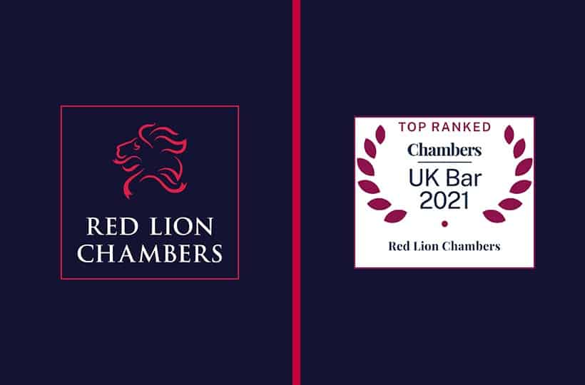 Red Lion sees 31 members achieve 45 separate rankings across 11 Practice areas in the latest Chambers and Partners directory