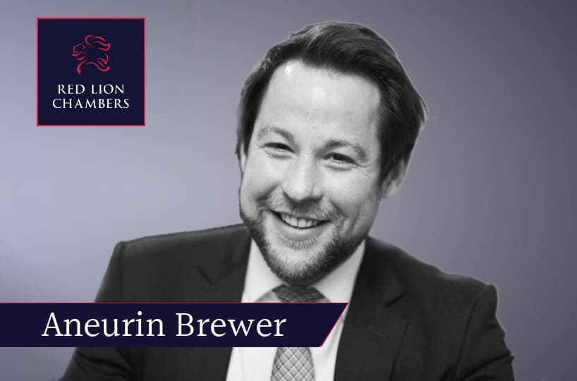 Aneurin Brewer successfully appeals migrant conviction in Court of Appeal