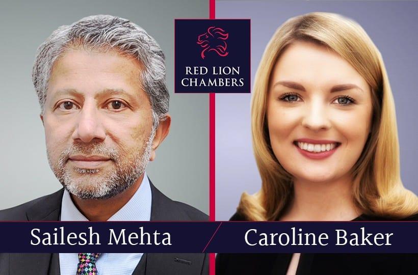 Sailesh Mehta and Caroline Baker write for Counsel Magazine