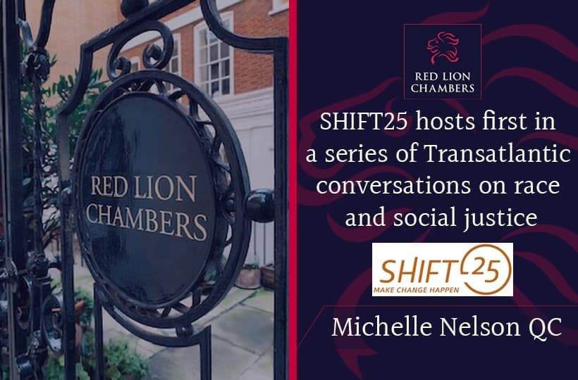 SHIFT25 hosts first in a series of Transatlantic conversations on race and social justice