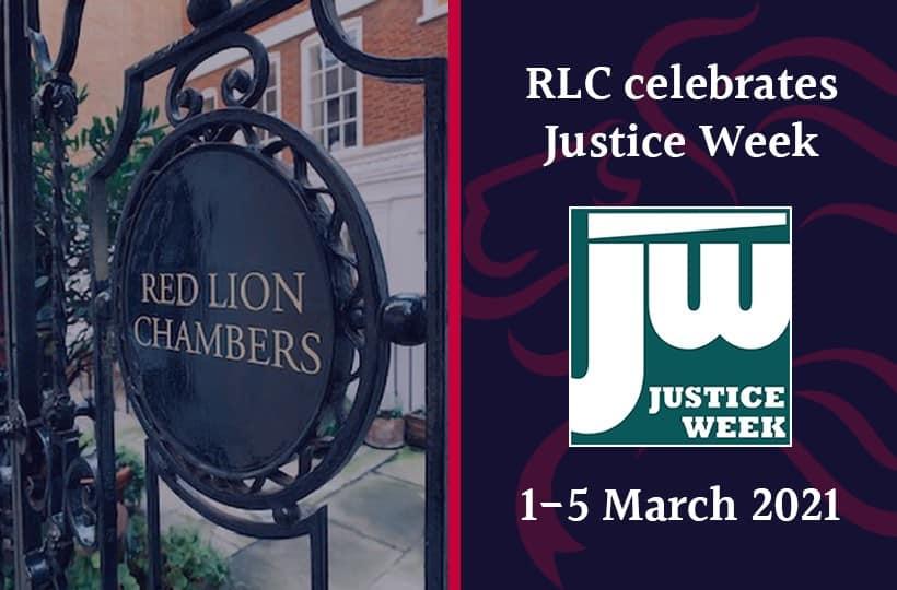 RLC celebrates Justice Week 2021